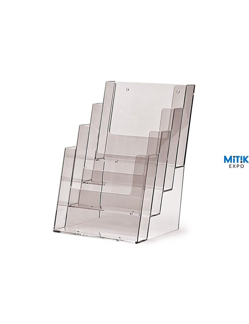 Portafolletos A5 Cuadriple Vertical