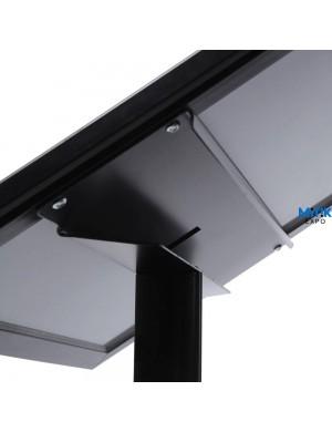 Atril información Black con luz LED para formatos 2 DIN A4 - 4