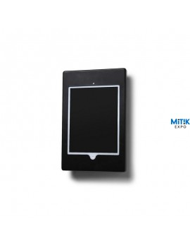 Expositor soporte digital Digit Ubuntu mural para tablets o iPads negro