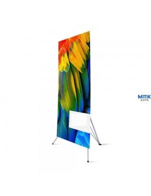 Expositor Banner XY para formatos 60x160 ó 120x200 cm