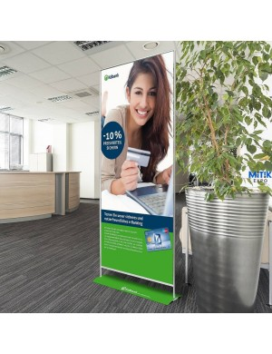 Expositor Roll Up Magic 60x200, 85x200 y 100x200 cm - Detalle 1