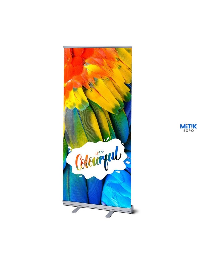 Expositor banner Roll Up Classic  85x200 - 100x200 cm