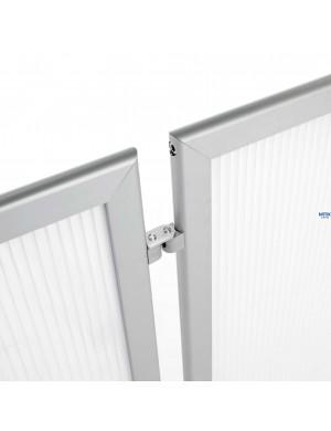 Mampara Limit para separación de espacios y protección contagios. Disponible en 100x120, 100x150 ó 100x180 cm - Detalle 3