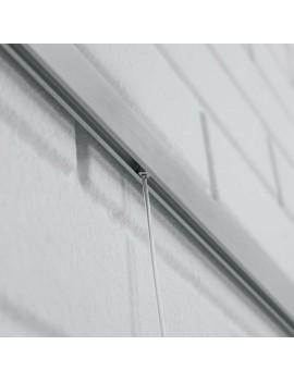 Rail cuelga cuadros cables