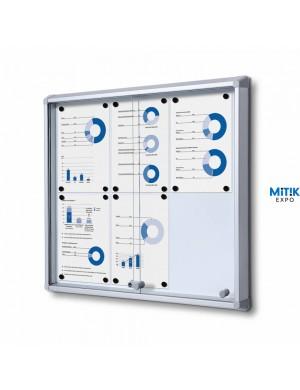 Vitrina puertas correderas Magnétic 6 DIN A4
