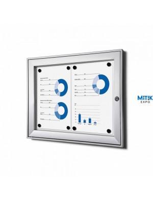 Vitrina Kompany Magnetic 2 DIN A4