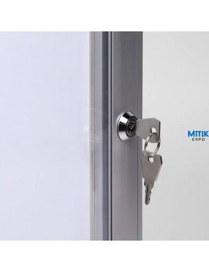 Vitrina Kompany Magnetic cerradura