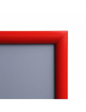 Marco Portaposters Colour Rojo 1