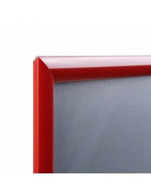 Marco Portaposters Colour Rojo 3