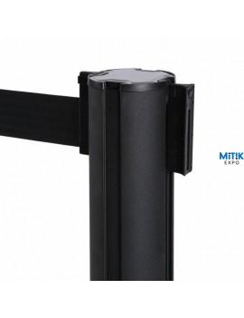 Poste negro cinta extensible 2