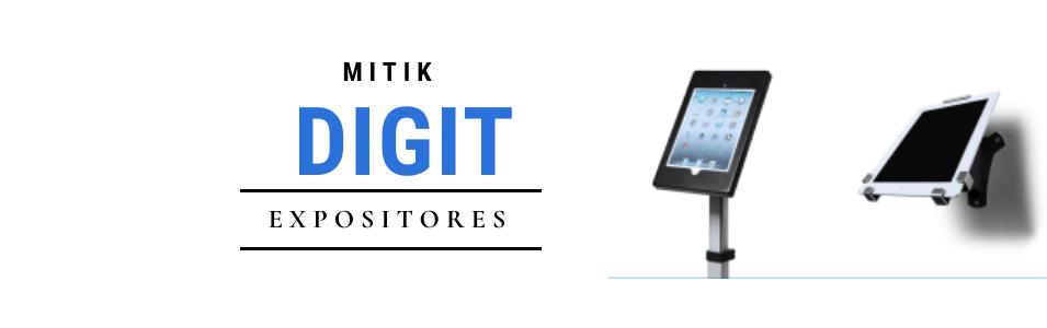 Expositores  Digit | Expositores con soporte para Ipad o tablets