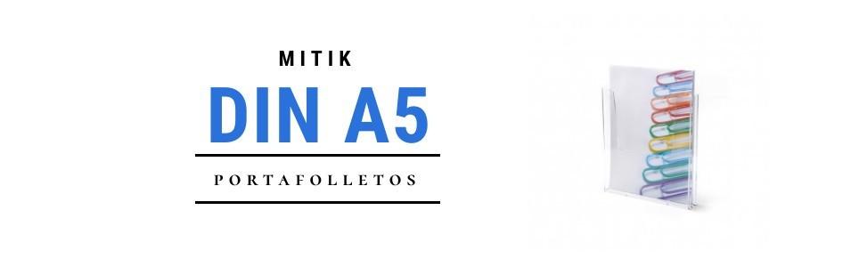 Portafolletos DIN A5 | Mitik Expo - Expositores metacrilato