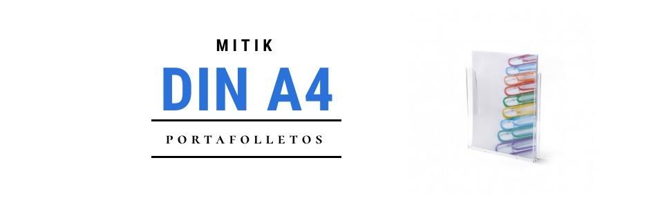 Portafolletos DIN A4 | Mitik Expo - Expositores metacrilato