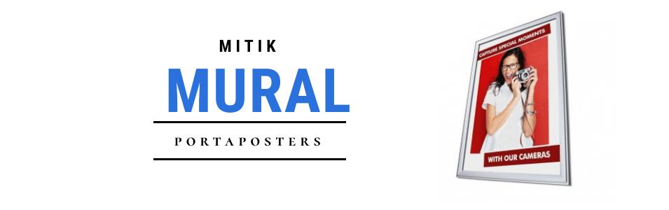 Portaposter mural | Expositores y portaimagenes para carteles