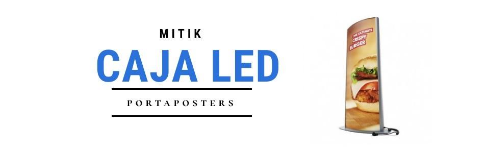 Cajas de luz | Expositores y portapósters con luz Leds
