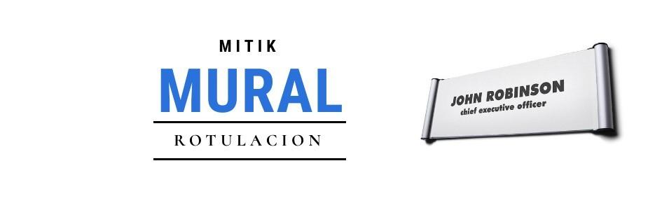 Rotulación mural | Mitik - Expositores y sistema de rotulación