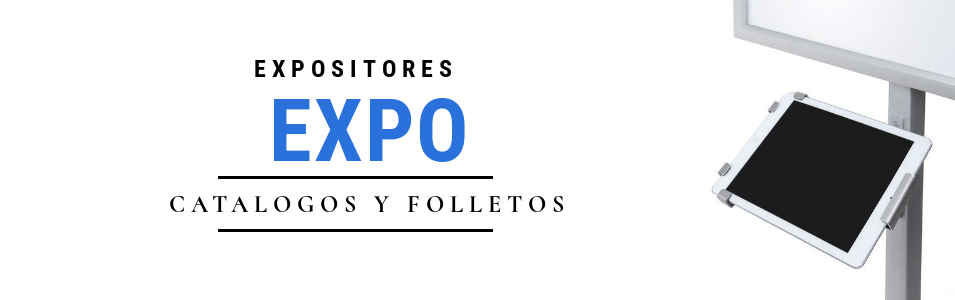 Expositores para ferias, comercios, centros públicos...