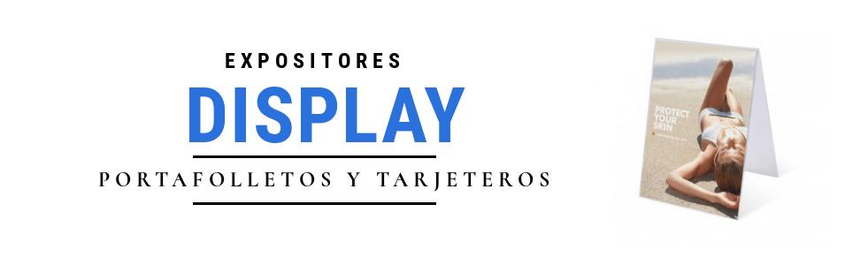 Portafolletos de metacrilato / Expositores y displays